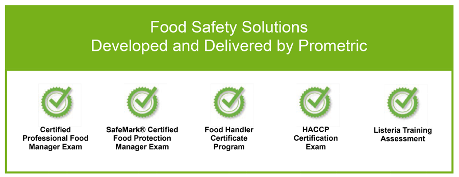 Prometric Food Safety Exams